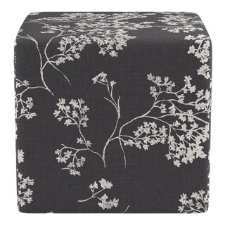 Cube Ottoman in Branches For Sale