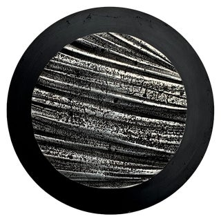 James C. Myford Abstract Cast Aluminum Wall Sculpture For Sale
