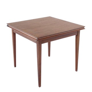 Square Flip-Top Game Table For Sale
