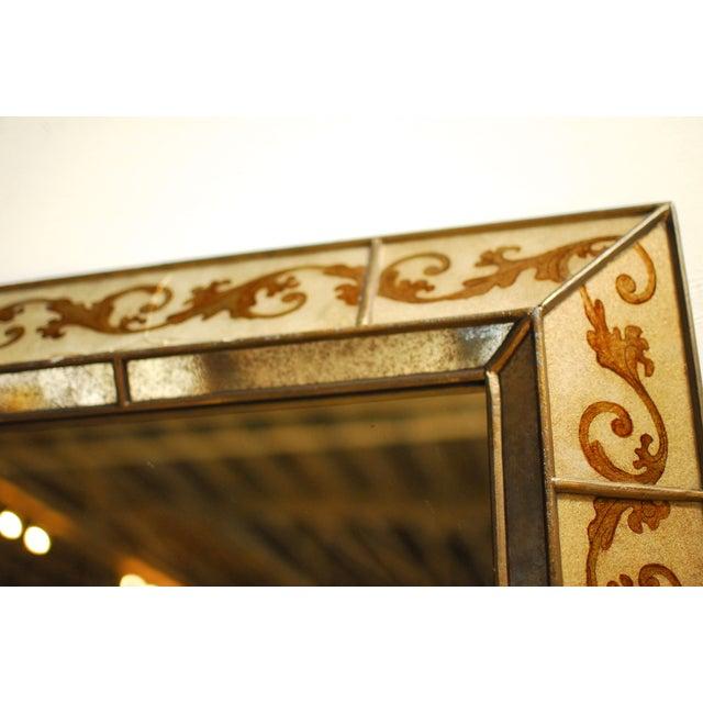 Venetian Style Reverse Painted Mirror - Image 2 of 4