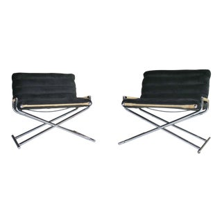 Ward Bennett Brickell Sled Chairs For Sale