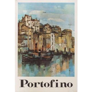 Portofino 1960s Italian Poster For Sale
