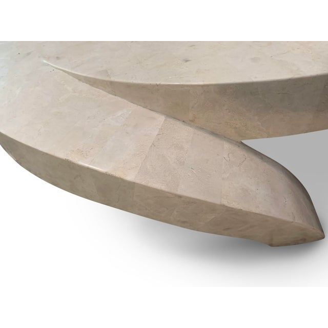 Vintage Tessellated Marble Coffee Table For Sale - Image 9 of 11