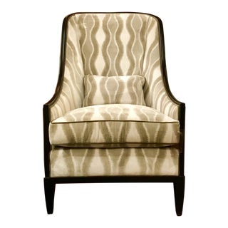 Kravet Haddam High Back Chair For Sale
