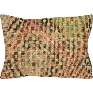 """1960s Turkish Jijim Lumbar Pillow 16"""" X 23"""" For Sale"""