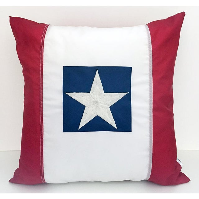 2010s American Flag Pillow For Sale - Image 5 of 5