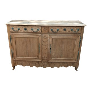 18th Century French Louis XV Wooden Buffet