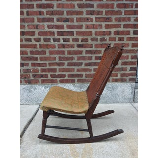 *Last Chance* Antique Victorian Child's Rocking Chair Preview