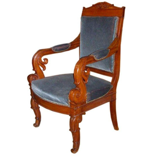 Restauration Period Armchair For Sale - Image 11 of 11