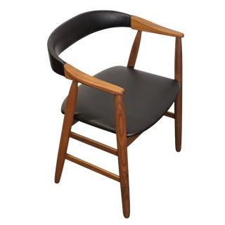 Original Danish Mid Century Desk Chair - Fastrup For Sale