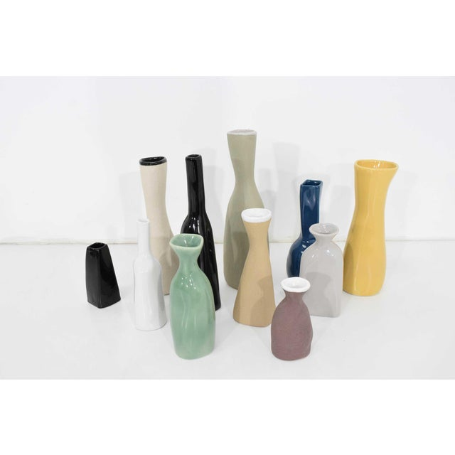 Collection of Vases by Luna Garcia - Set of 11 For Sale - Image 10 of 10