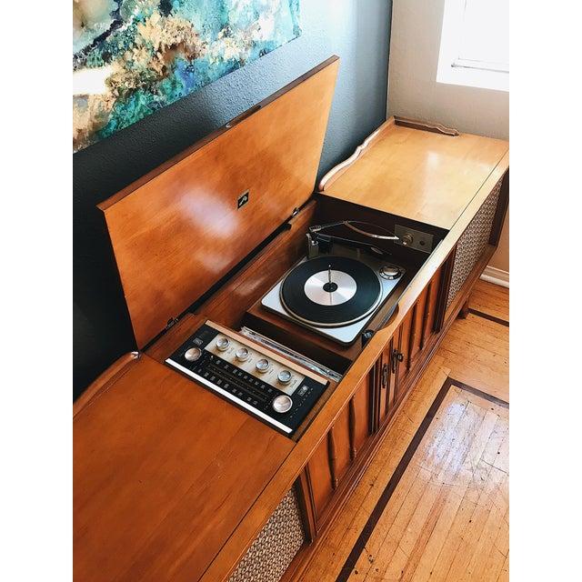 1960s Mid Century Modern Record Console