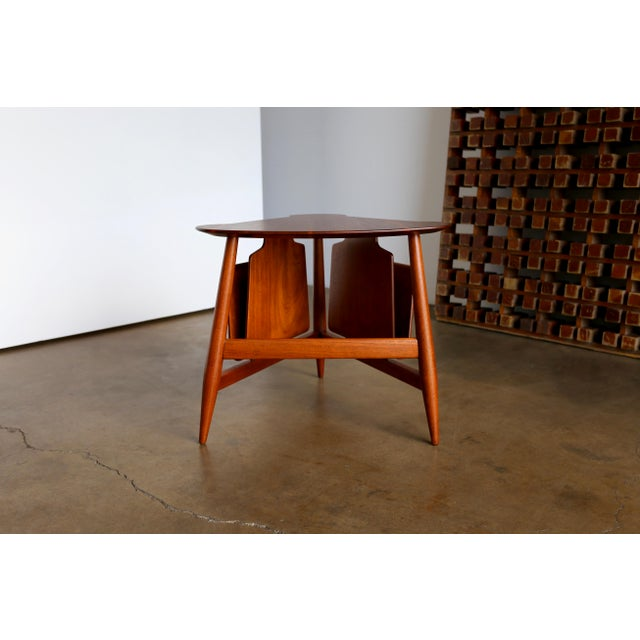 Mid 20th Century Mid Century Edward Wormley Model 5313 Magazine Table For Sale - Image 5 of 13