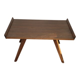 Traditional George Nakashima for Knoll Splay-Leg Table For Sale