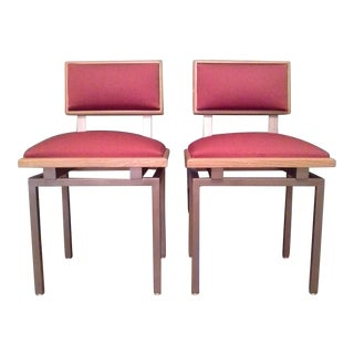 Thonet Style Mid-Century Side Chairs - A Pair
