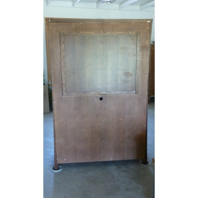 Modern Asian Style Armoire For Sale - Image 4 of 5