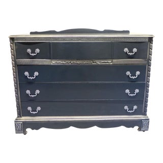 French Country Style Gray Dresser For Sale
