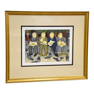 Beryl Cook Signed Lithograph For Sale