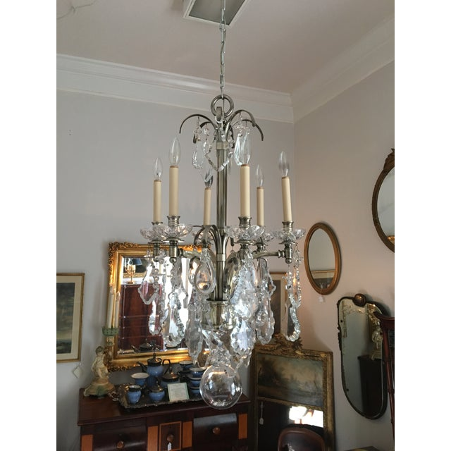 Vintage Hart Crystal Arm Chandelier For Sale - Image 11 of 11