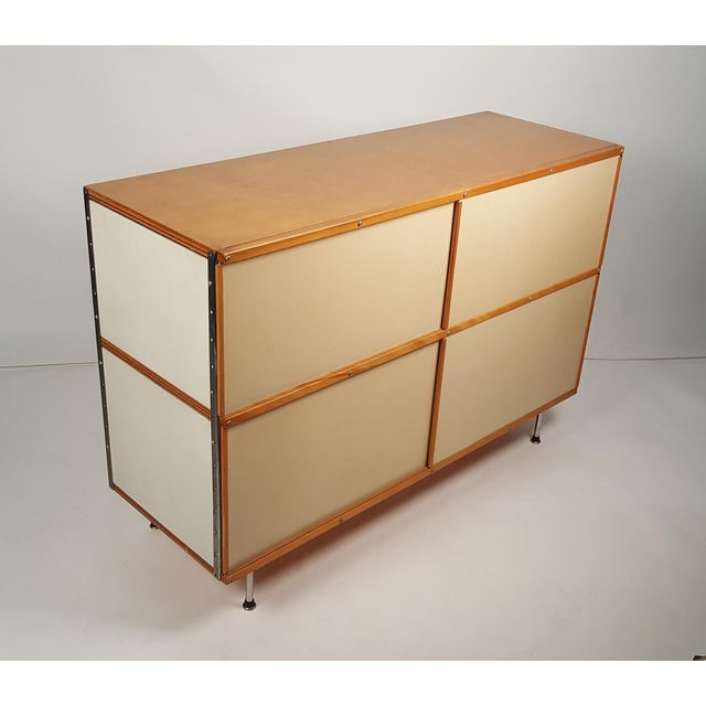 Herman Miller Early ESU 200 Storage Unit by Charles & Ray Eames for Herman MIller For Sale - Image 4 of 11