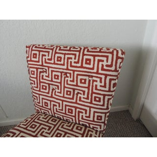 Mitchell Gold + Bob Williams Red and Natural Accent Chair Preview