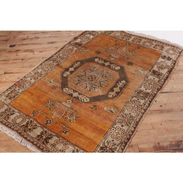Turkish Hand Knotted Family Rug - 3′10″ × 5′9″ - Image 3 of 7