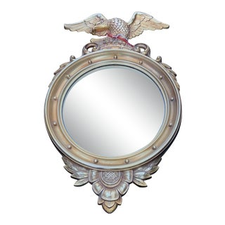 1960s Vintage Federal Style Mirror For Sale