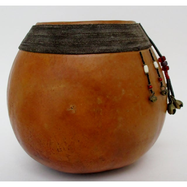 Decorated Gourd Vase For Sale - Image 4 of 8
