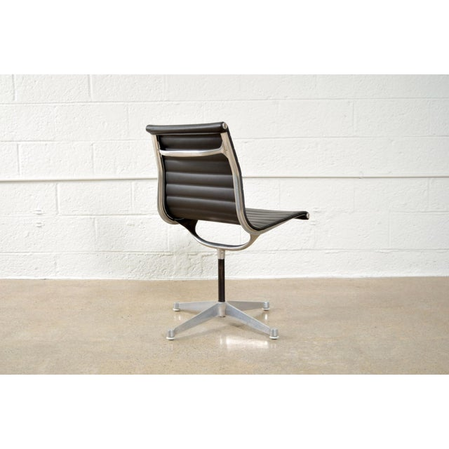 Original Eames for Herman Miller Aluminum Group Side Chair - Image 6 of 11