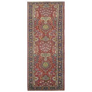 Vintage Persian Tabriz Rug - 2'10'' x 12'1'' For Sale