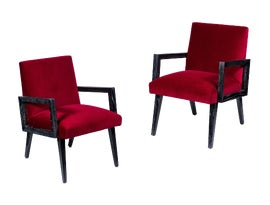Image of Paul Frankl Club Chairs
