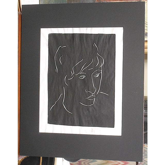 This pencil signed and numbered limited edition print by Marian McDaniel depicts a portrait of a woman. It is signed by...