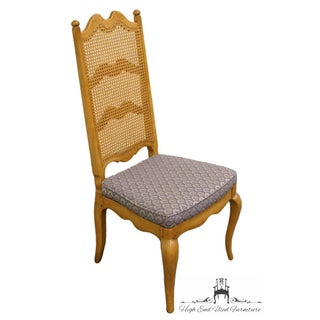 Thomasville Furniture Chateau Collection Cane Back Dining Side Chair Preview