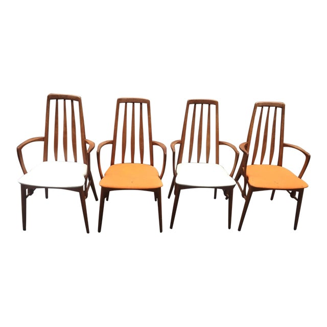 Niels Koefoed for Hornslet Dining Chairs - Set of 4 - Image 1 of 5