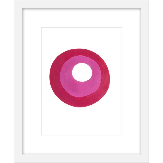 "Contemporary Small ""Plum Jam"" Print by Neicy Frey, 17"" X 21"" For Sale - Image 3 of 3"