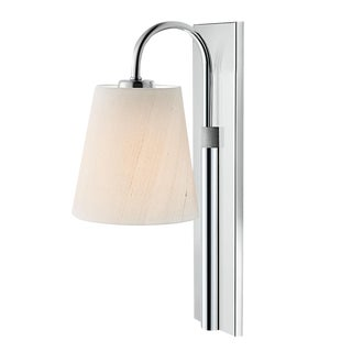 Shaftersbury Single Wall Light in Polished Chrome For Sale