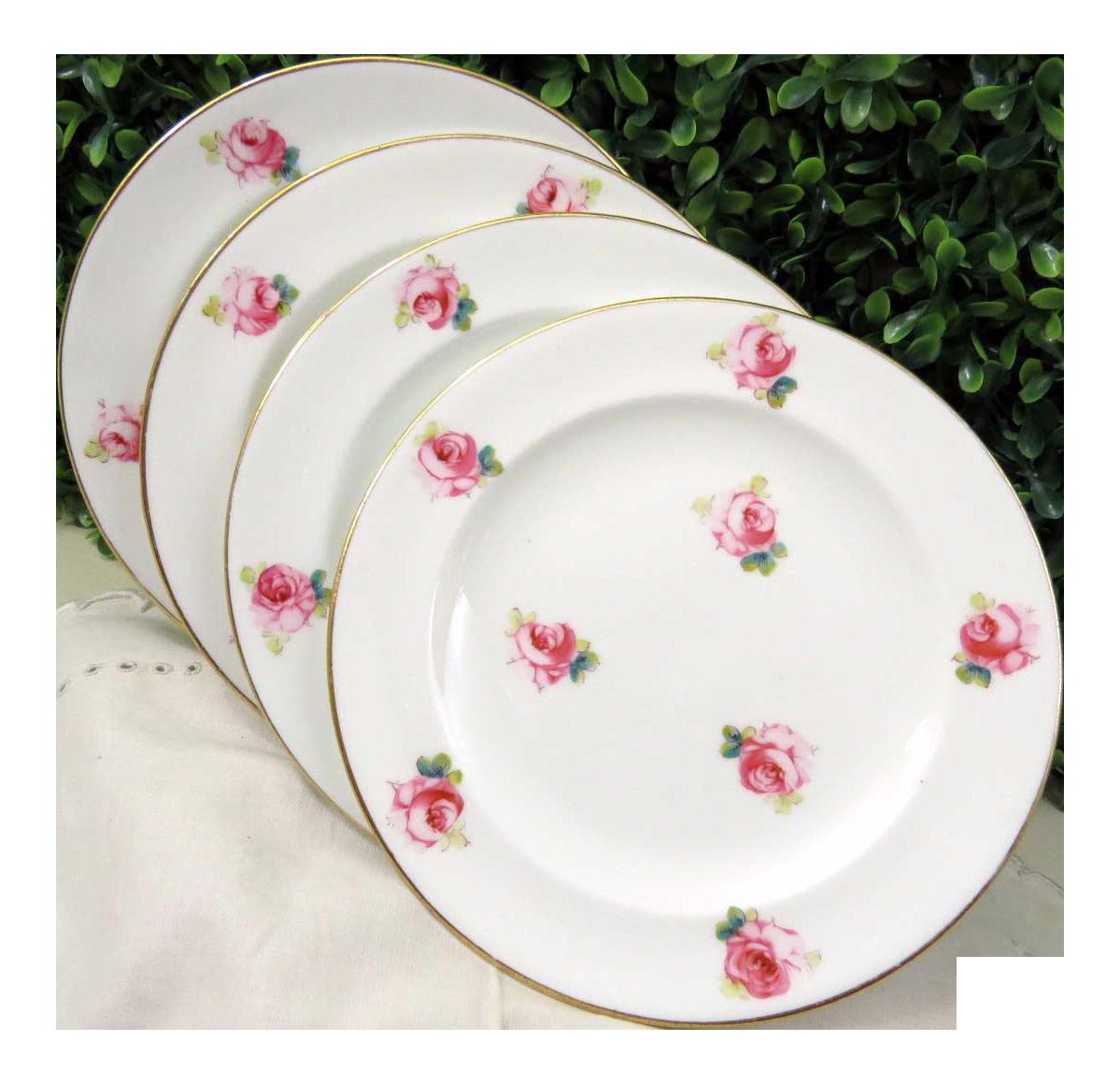 Royal Crown Derby Dessert Plates - Set of 4  sc 1 st  Chairish & Royal Crown Derby Dessert Plates - Set of 4 | Chairish
