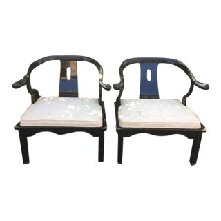 James Mont Style Asian Ming Chairs - a Pair For Sale