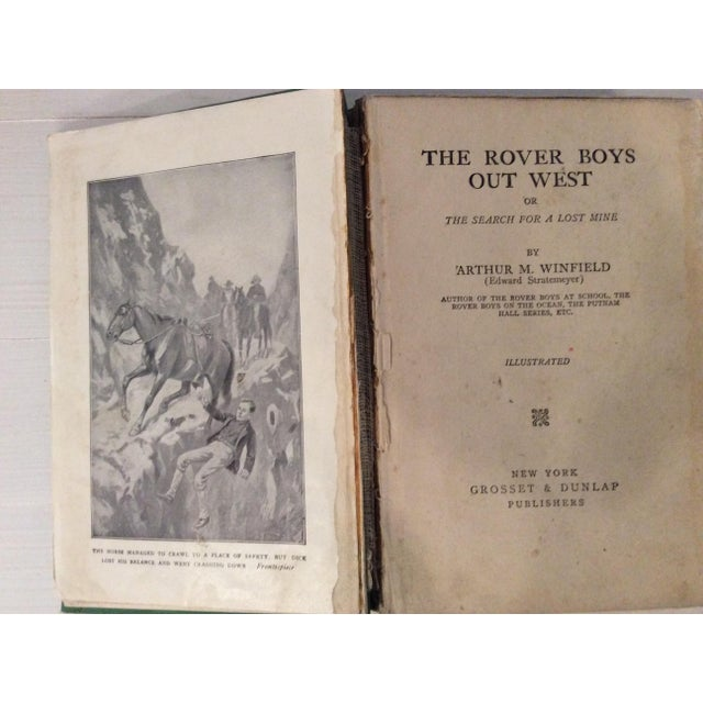 Early 1900s Books: The Rover Boys' Series for Young Americans - Set of 3 - Image 7 of 10