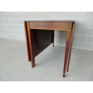 Antique Federal Style Mahogany Drop Side Table Preview