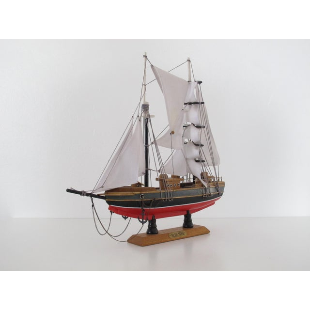 "Nautical ""Blue Nose"" Ship Model For Sale - Image 3 of 9"