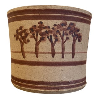 1960s Howard Axner for Lauffer Pottery Ceramic Planter For Sale