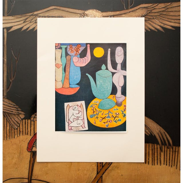 Abstract Expressionism 1958 Still Life Lithograph by Paul Klee For Sale - Image 3 of 8