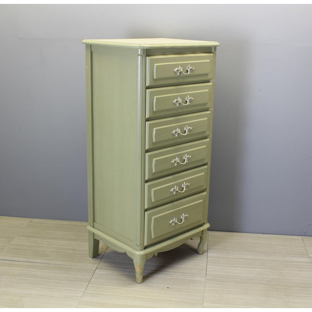 Mid-Century Modern Mid Century Lingerie Chest Of Drawers For Sale - Image 3 of 4