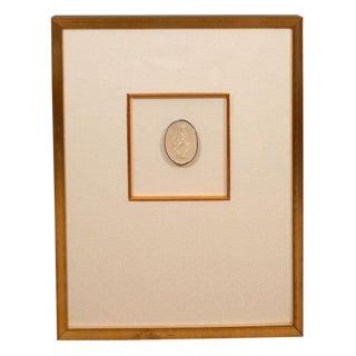 Framed Intaglio For Sale