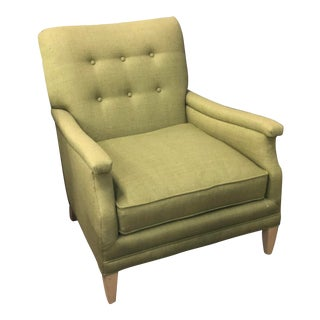 Lime Green Century Furniture Chair For Sale