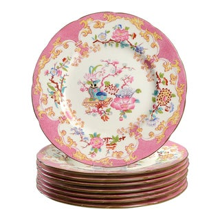 Minton #3970 Dinner Plate - Set of 8 For Sale