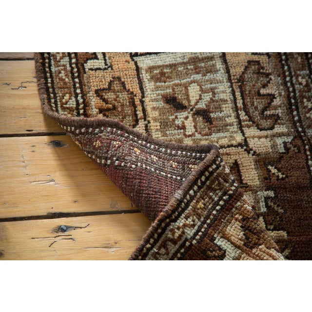 "Vintage Oushak Rug Mat - 1'7"" X 3'2"" For Sale In New York - Image 6 of 7"