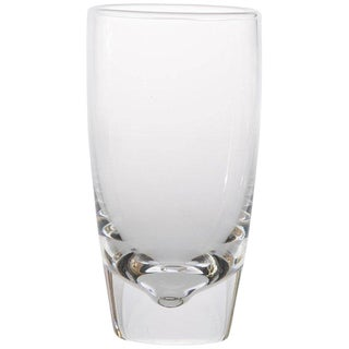 Set of 18 Medium Steuben Crystal Highball Glasses Attributed to Joel Smith For Sale