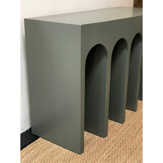 Martin and Brockett's Arcade console is a nod to the ancient Roman architectural form- a succession of contiguous arches...